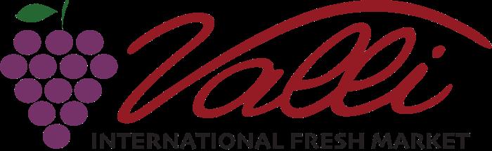 A theme logo of Valli Produce